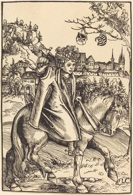 A Saxon Prince on Horseback