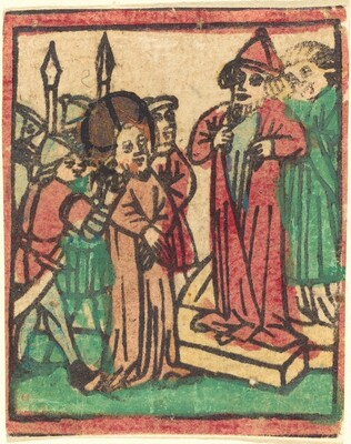 Caiaphas Tearing his Clothes