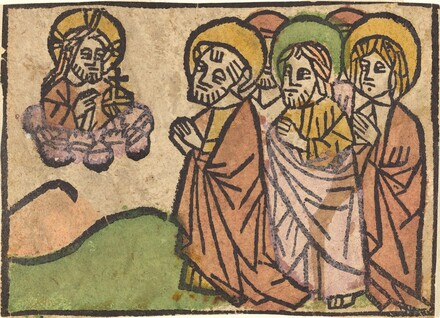 Christ Appearing to the Apostles