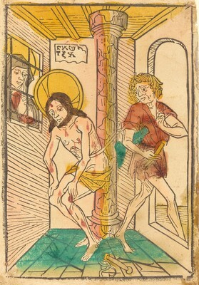 The Flagellation in the Presence of Mary