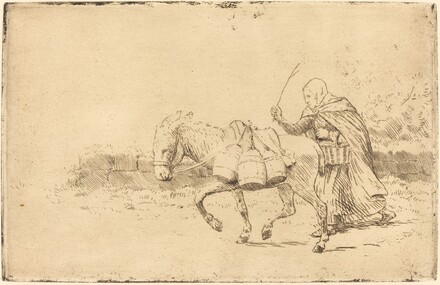 Milkmaid of Boulogne, 1st plate (Laitiere a Boulogne)