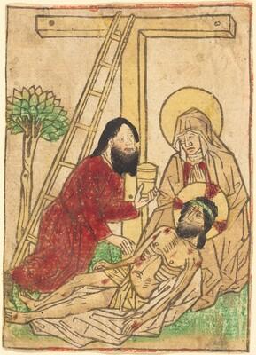 Pietà with Saint John