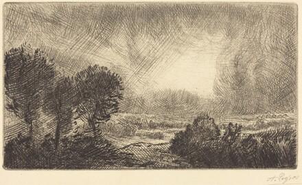 Landscape with Storm (Paysage d'orage)