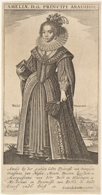 Amalia, Wife of Fredierick Henry, Prince of Orange