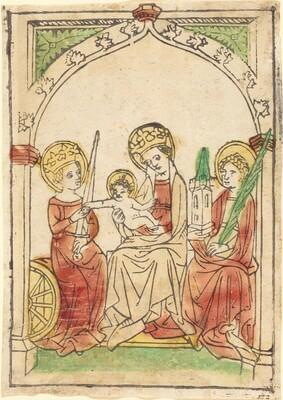 Madonna between Saints Catherine and Barbara