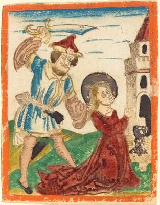 The Martyrdom of Saint Barbara