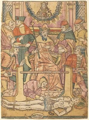 The Martyrdom of Saint Erasmus
