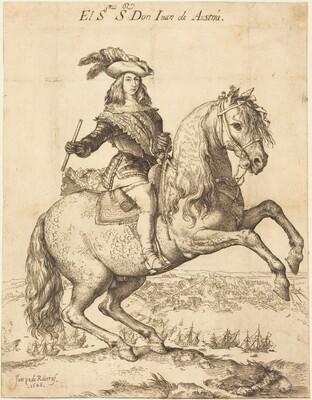 Equestrian Portrait of Don Juan de Austria