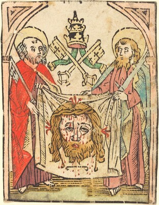 Saints Peter and Paul with the Sudarium