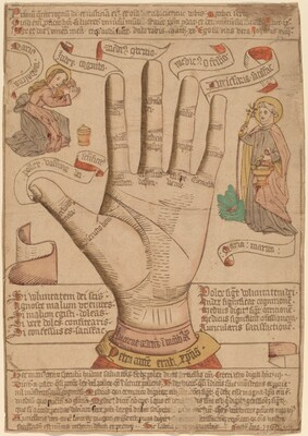 The Hand as the Mirror of Salvation