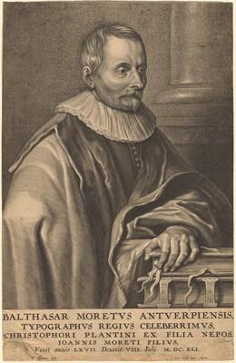 Balthasar Moretus of Antwerp