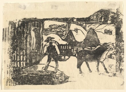 The Ox Cart (Le char a boeufs)