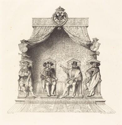 Four Magistrates of Besançon (Quatre magistrats de Besançon)