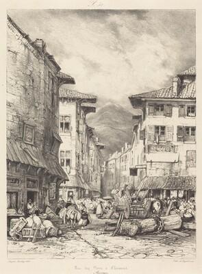 Rue des Gras à Clermont