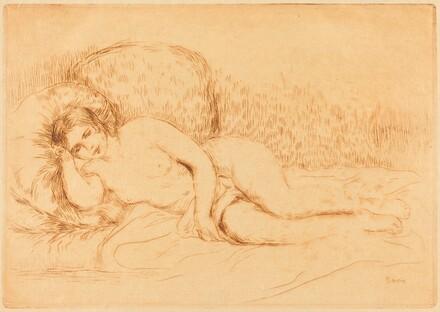 Woman Reclining (Femme couchee)