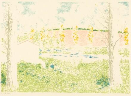 Landscape with a House (Paysage avec maison)
