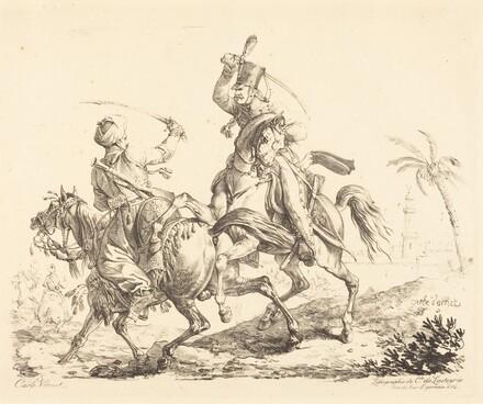Hussard Striking a Mameluck