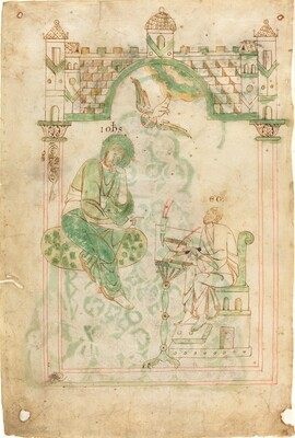 Saint John Dictating to the Venerable Bede