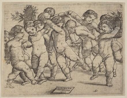 Twelve Children Dancing