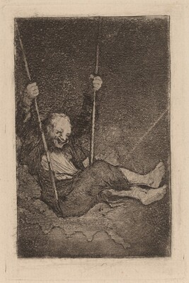 Old Man on a Swing
