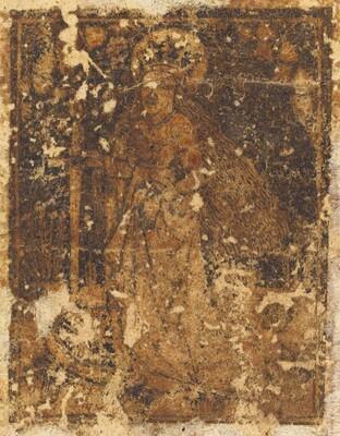 Saint Catherine [verso]