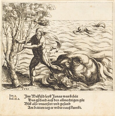 Jonah is Delivered from the Whale