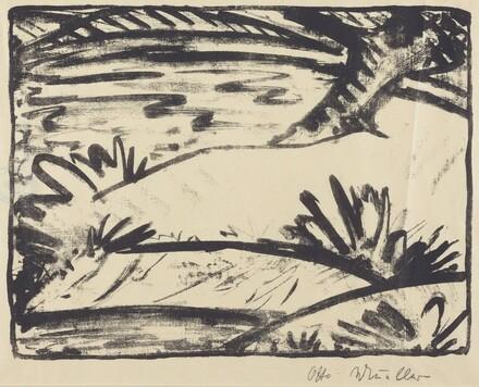 Landscape with Tree and Water (Landschaft mitBaum und Wasser)