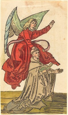 A Monk with an Angel