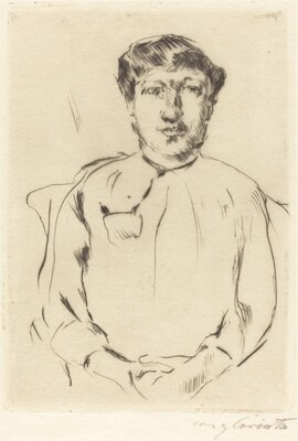 Portrait of a Woman (Frauenbildnis)