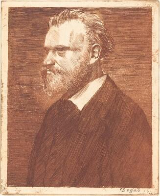Edouard Manet, Bust-Length Portrait  (Manet en buste)