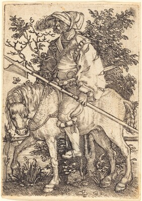Halberdier on Horseback