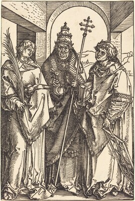 Saints Stephen, Sixtus and Lawrence