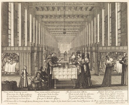 L'Infirmerie de l'hospital de la Charite de Paris