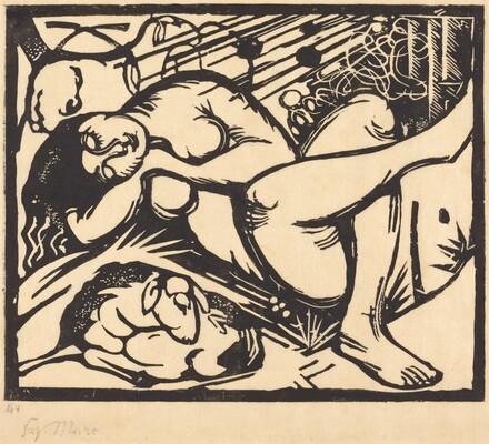 Sleeping Shepherdess (Schlafende Hirtin)