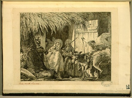 Joseph and Mary Prepare to Leave