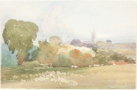 Landscape with Church Steeple