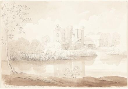 Castle Rheban on the River Barrow, Athy