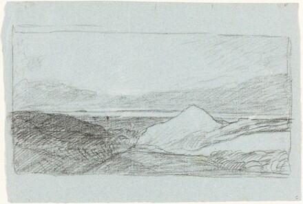 Landscape with Hills and Water