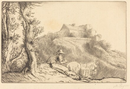 Farm on a Hill (La ferme sur la colline)