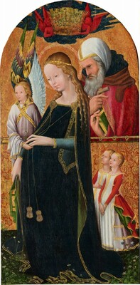 The Expectant Madonna with Saint Joseph