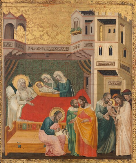 The Birth, Naming, and Circumcision of Saint John the Baptist