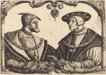Emperors Charles V and Ferdinand I