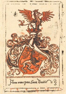 Bookplate of the Abbey of Ottobeuren