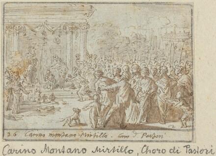 Chorus of Shepherds: Carino, Montano and Mirtillo