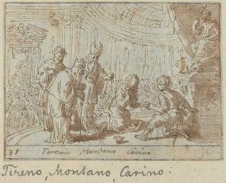 Tirenio, Montano and Carino