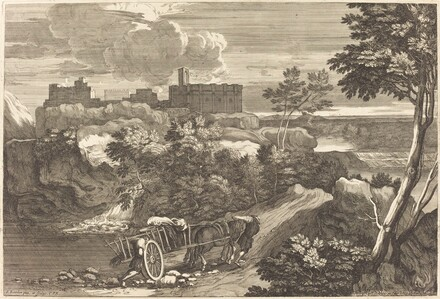 Landscape with Wagon