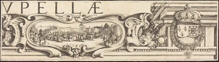 The Siege of La Rochelle [plate 3 of 16;  set comprises 1952.8.97-112]