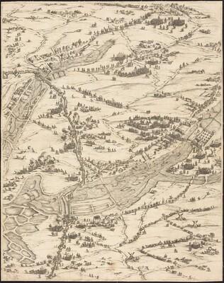 The Siege of La Rochelle [plate 7 of 16;  set comprises 1952.8.97-112]