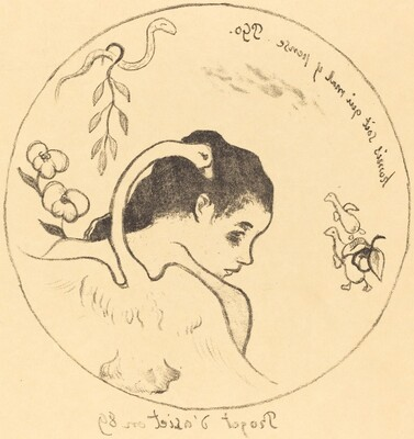 Design for a China Plate (Projet d'assiette)