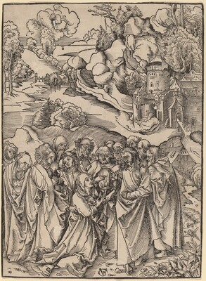 Christ and the Apostles and the Holy Women